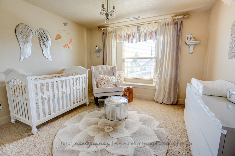 Nursery Feature Neutral Glam 187 Tesar Photography Boise